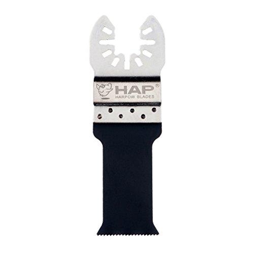 harpow Bi-Metall Cut Sägeblatt Sägeblatt mit Halter aus Edelstahl, 28mm, Schwingendes Klingen Multitool Klingen
