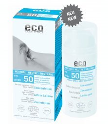 eco cosmetics: Sonnenlotion LSF 50 neutral (100 ml)