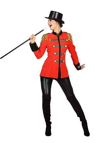 Wilbers Zirkus Direktor Damenkostüm Kostüm Manege Circus Karneval Fasching Damen (Zirkus Kostüm Für Erwachsene)