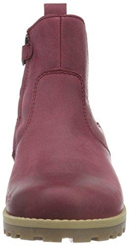 FRODDO Froddo Girls Waterproof Chelsea Boot, Bottes courtes avec doublure chaude fille Rouge - Bordeaux