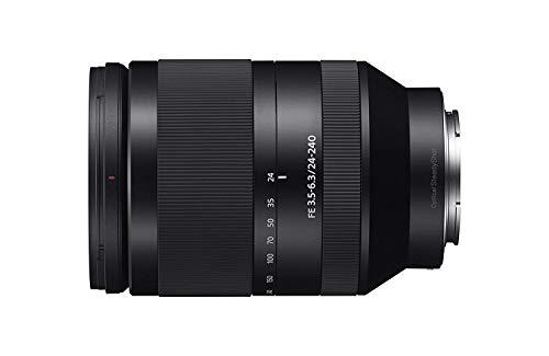 Foto Sony SEL24240 Obiettivo con Zoom 24-240 mm F3.5-6.3, Stabilizzatore Ottico, Full-Frame, Innesto E, Nero