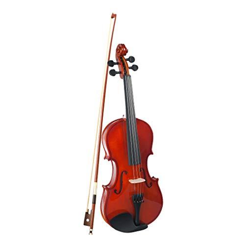 Almencla Akustische Violine Set 1/4 Geige mit Hard Case, Bogen für Anfänger, Studenten, Kinder und Erwachsene