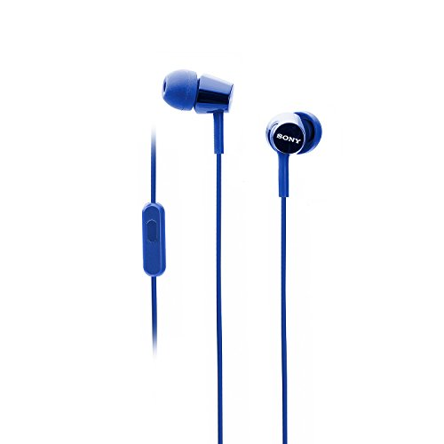 Sony MDR-EX150AP In-Ear Headphones with Mic (Darkish Blue) Image 6