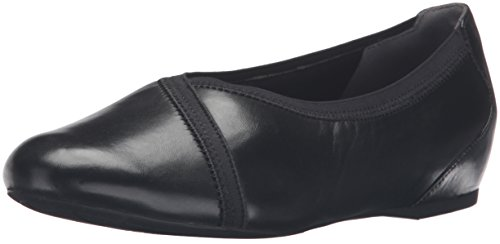 Rockport Envelope Large Cuir Ballerines Black