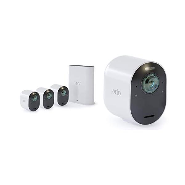 Arlo Ultra 4K UHD Wireless Smart Home Security 31GWEZgJm5L