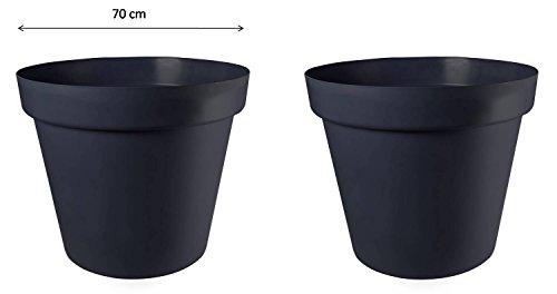 Pflanztöpfe UV-beständiger Kunststoff