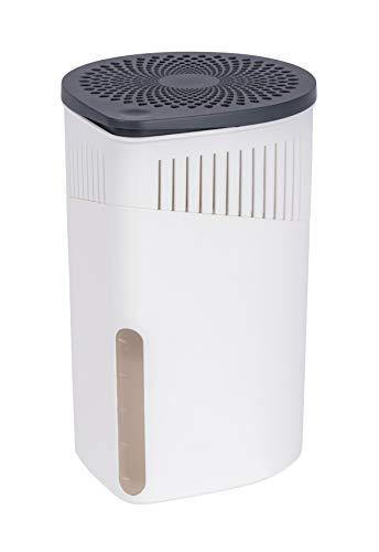 Wenko Raumentfeuchter Drop weiß 1000 g - Luftentfeuchter Fassungsvermögen: 1,6 l, 15 x 23 x 15 cm, weiß