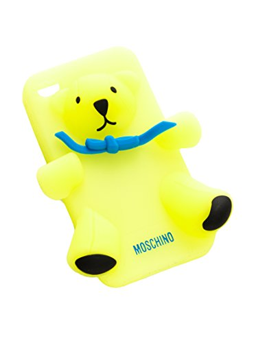 Moschino Love Housse iPhone 4/4S Jaune