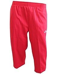 Pantalon d'entraînement adulte Asics 3/4RED t222z9.0026, TG. L