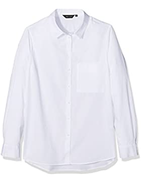 New Look Damen Hemden Poplin Longline