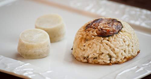 Timballo di riso vegetariano