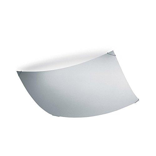 Vibia Quadra Ice Deckenleuchte, weiß R7S 117mm Größe 2 37x37cm