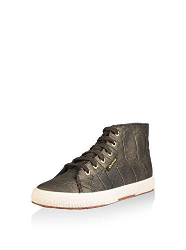Superga Donna Sneakers stringate Oliva
