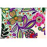 vera-bradley-flower-print-pattern-white-custom-zippered-pillow-case-copricuscini-e-federe-20x30-twin