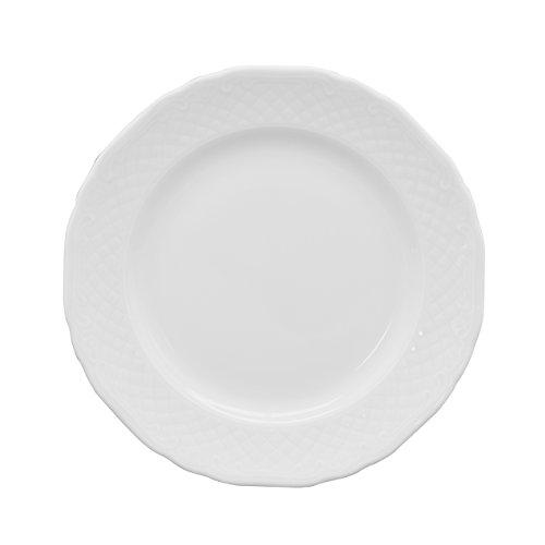Eschenbach Porcelaine 47730000000257 la Reine Assiette plate 25 cm Porcelaine, Blanc, 01 X 01 X 01 cm