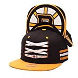 Zephyr Lacer Locker Timeles Cap, NHL Teams:Boston Bruins, Größe:OSFA