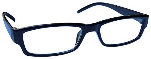 Schwarz Kurzsichtig Fernbrille Kurzsichtigkeit Herren Damen Leicht Komfortables M32-1 Dioptrien...