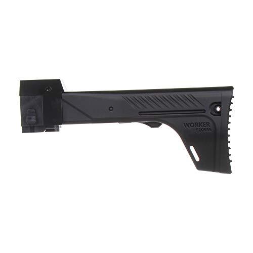WORKER F10555 Impresión 3D NO.153 AK-12 Foldin Stock Versión A para NERF Blaster