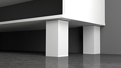 -Soporte para estante moderno y de aluminio, de altura regulable, de EMT-Design®,...