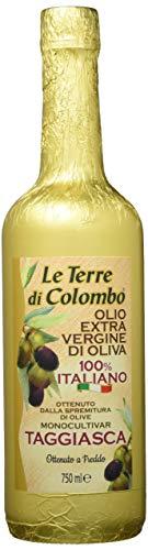 Le terre di colombo - olio extravergine d'oliva taggiasca, bottiglia dorata, 0,75 litri