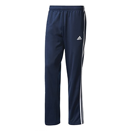 3 Essential Training (adidas Herren Essentials 3 Streifen Hose, Collegiate Navy/White, XL)