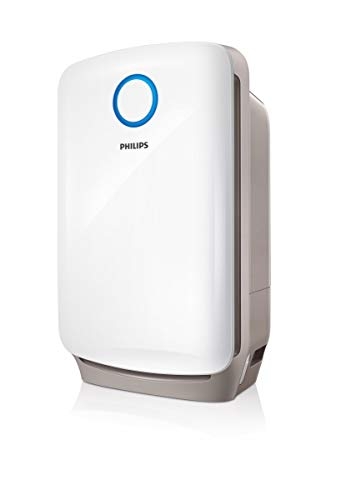 Philips AC4080/10 2-in-1 Kombigerät Luftbefeuchtung und Luftreinigung in einem, weiß (Generalüberholt)