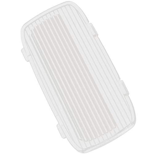perfk Staubdicht Abdeckung Hülle Cover Fall für Autotür Licht Lampe für Honda Accord 2dr & 4dr 03-07, Transparent (Licht Honda Accord)