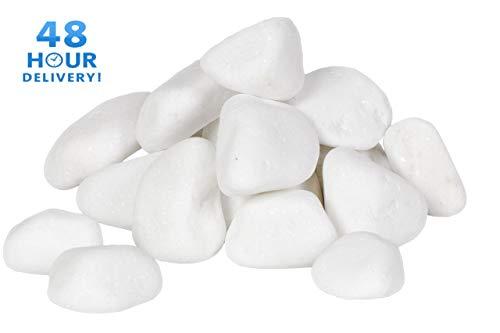 B2C Decorative MARBLE EXTRA SNOW WHITE Stones/Pebbles *** HOME & GARDEN *** AQUARIUM THASSOS SHINY (5kg)