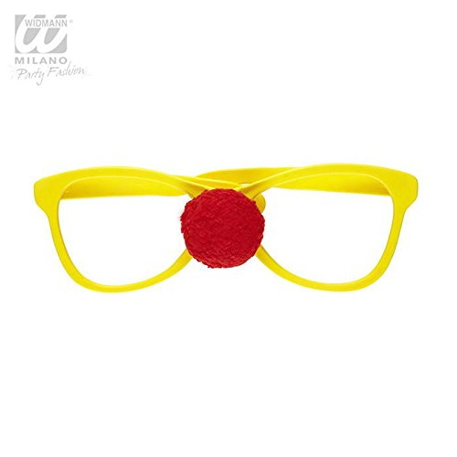 Giant Glasses with Clown Nose Glasses Accessory for Circus Clowns And Fun Fairs Fancy Dress Up Costumes and Outfits