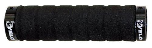 Velo Griffe -Light-Schaumstoff-Schraubgriff, schwarz, 130 mm