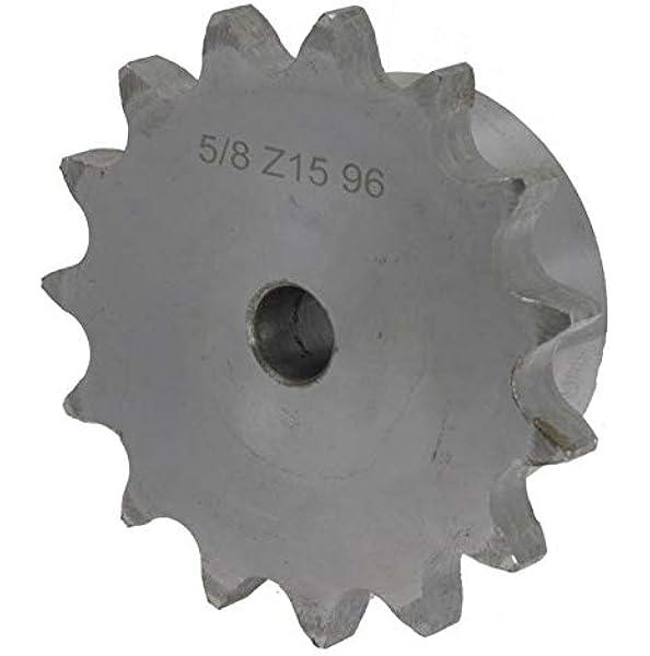 Kettenräder Mit Einseitiger Nabe Simplex Type 04 B 6 Mm X 2 8 Mm Zähne 8 Gewerbe Industrie Wissenschaft