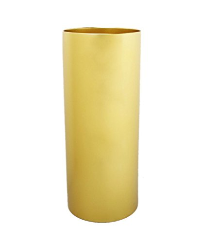 LLD SANJIA Semplice cilindrico del supporto dell'ombrello della cremagliera Portaombrelli Umbrella benna floreale Vaso ( colore : Oro )