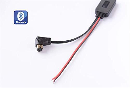 Shine Adaptateur Bluetooth pour Voiture Pioneer, Interface Musique CD stéréo AUX pour DEH-P2600R P3500MP P6600R P9600MP P3100UB P4100SD P5100UB
