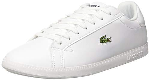Lacoste Herren Graduate Bl 1 SMA Sneaker Weiß Wht 21g, 42 EU