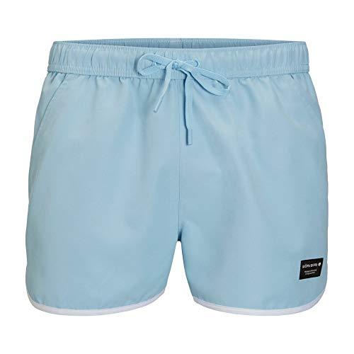 Bjorn Borg Emblématique Sandro Athletic Shorts De Bain Homme, Bleu De Rêve Grande