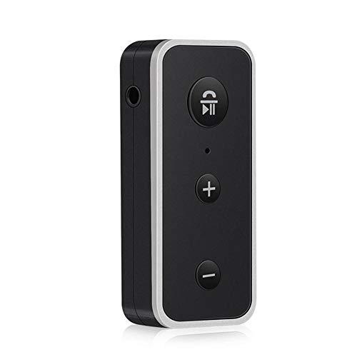 Ljourney Audio-Empfänger Bluetooth Auto Empfänger Adapter Bluetooth-Adapter Freisprecheinrichtung MP3 Tragbarer Drahtloser,3,5 Mm