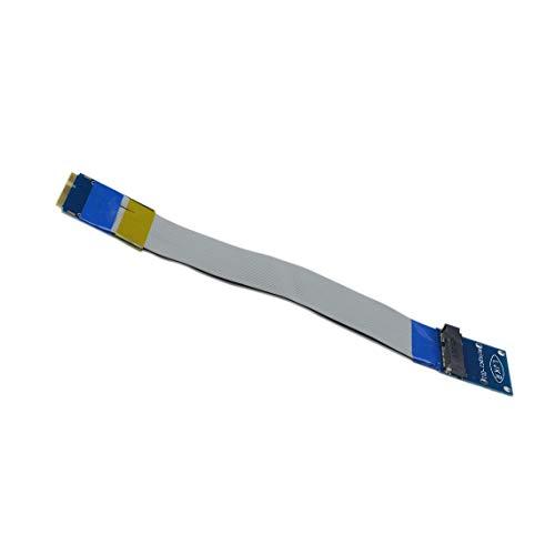 Momorain Mini PCI-E auf Mini PCI-E-Extender Adapter für Riser-Verlängerungskabel Verlängerungskabel für drahtlose Netzwerkkarten für Notebooks