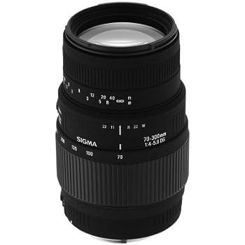 Sigma 70-300mm f4-5.6 Macro DG Lens For Sony Digital SLR Cameras