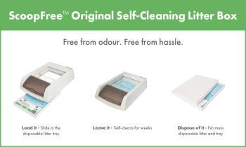 benefits of scoopfree crystal litter - Scoopfree Litter Box