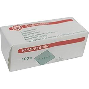Kompressen 100 Stück von Noba Verbandmittel 8-fach