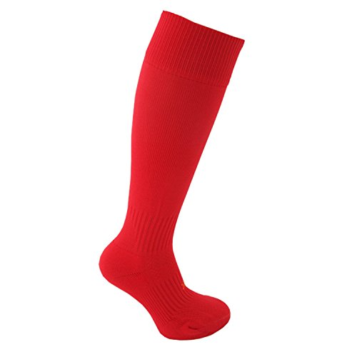 31GXEfpCCmL - Little Grippers Red XS (9-12) Childrens Unisex Sports Socks with Stay On Technology sports best price Review uk
