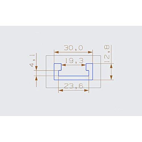 YNuth Standard T-track T-Nutenschiene für Tischkreissäge