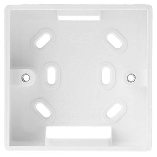 Caja de conexiones de pared para termostato