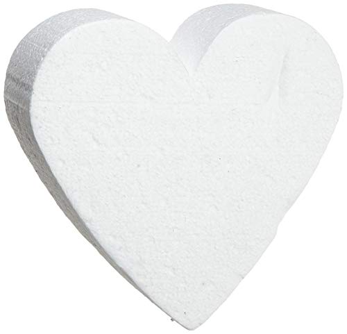 Staedter Cœur de Coupe pour gâteau de démonstration, Blanc, Blanc, 20 cm