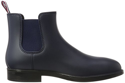 Tommy Hilfiger Herren S2285tream 1r Gummistiefel Blau (Midnight)