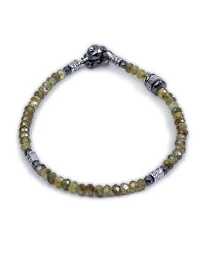 prezzo scontato raccolta di sconti bello economico Bracciale marca HOMO collezione Luxury Granato verde Ematite ...