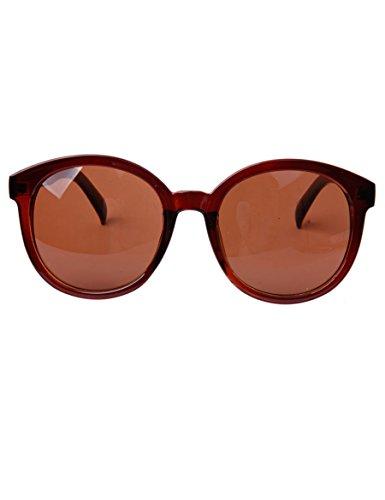Big Frame Sonnenbrille Fashion Runde Gesicht Lange Sonnenbrille Polarisierte Gläser ( Farbe : 4 )