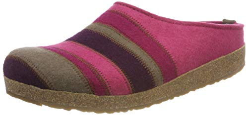 Haflinger Stripes Grizzly, Chaussons Mules Femme