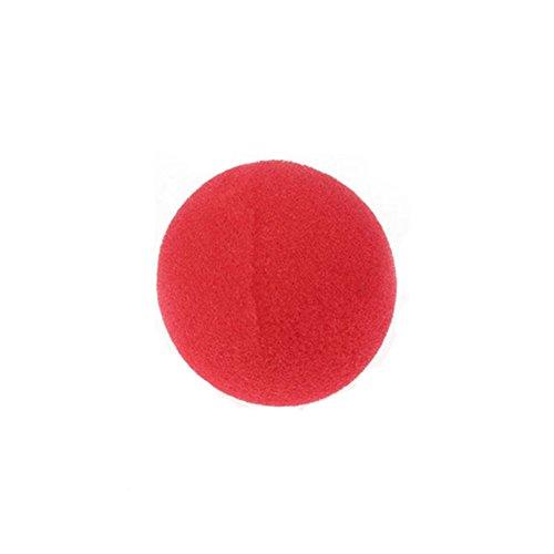 Outstanding® 5 PC esponja roja del payaso de la nariz de la fiesta de Halloween Circo