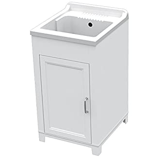 Lavatoio e mobile in pp una ante con asse per lavare inclusa tinello da esterni (1000046734)